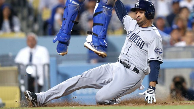 Dodgers Outslug Padres
