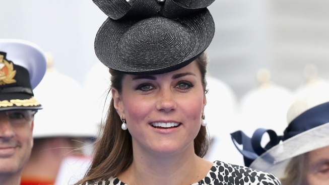 Kate Names New Princess Cruise Ship