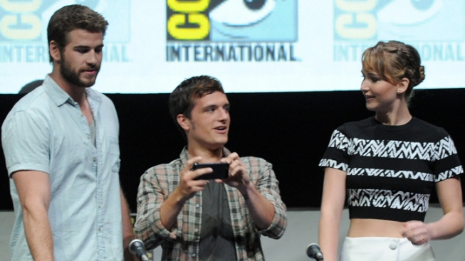 `Hunger Games' Cast Debuts Trailer at Comic-Con