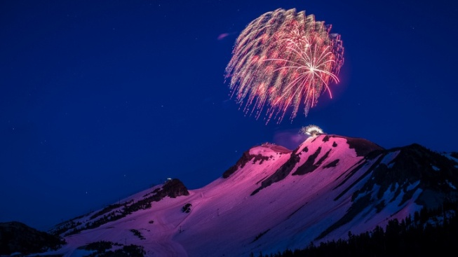 Mammoth Has the 'Highest Fireworks in the Country'
