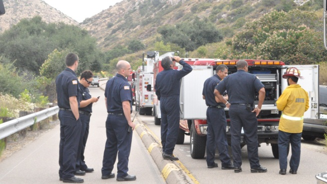 Rescue Drill on Mission Trails Tests GPS