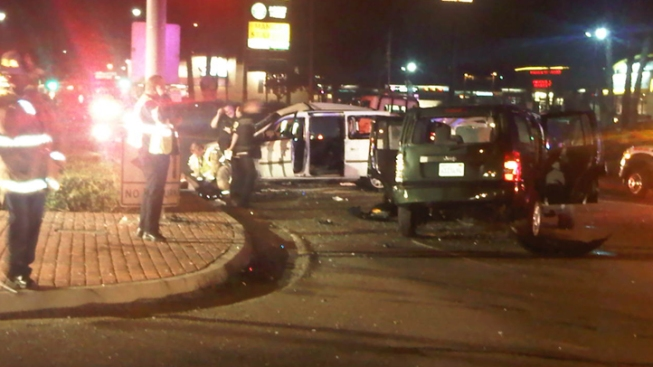 5 Injured After High-Speed Crash in National City