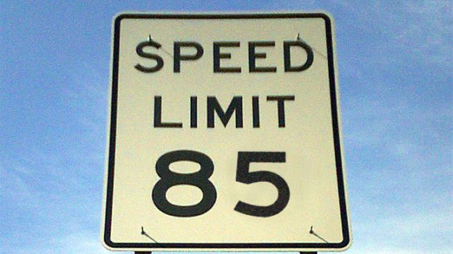 Fastest Road in U.S. Opens with 85 MPH Speed Limit
