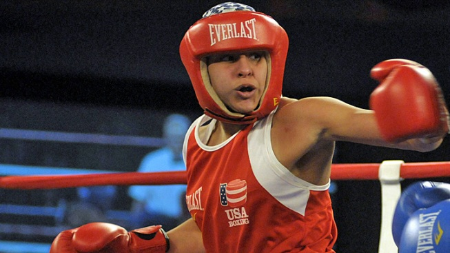 Marlen Esparza Becomes U.S.'s First Woman Olympic Boxer