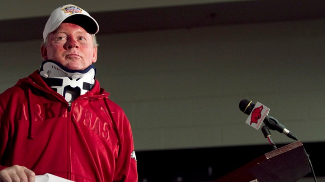 Bobby Petrino Out as Arkansas Coach