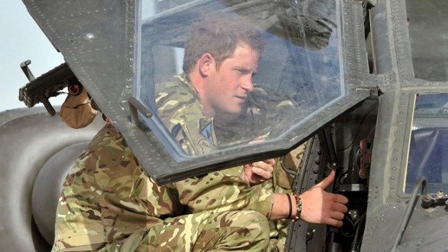 Prince Harry Completes 1st Phase of Afghanistan Training