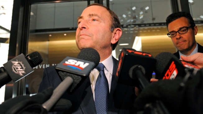 No Progress Made in New Round of NHL Labor Talks