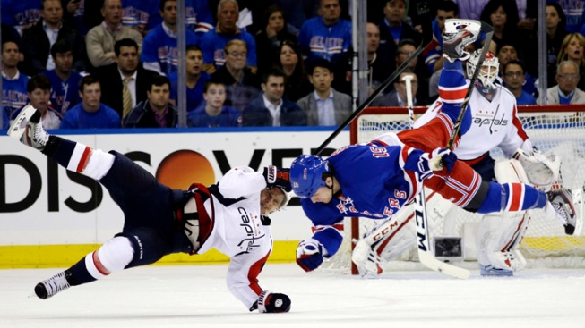 Rangers, Red Wings, Bruins, Kings Win Monday Night