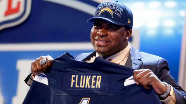 With the 25th Pick the Chargers Select...