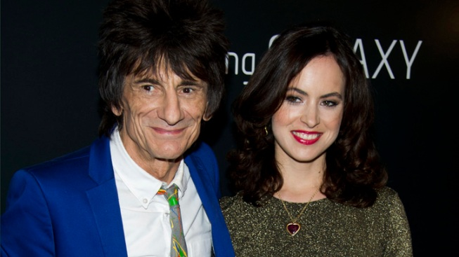 Reports: Rolling Stones Guitarist Wood Ties Knot