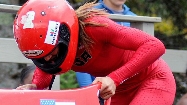 Lolo Jones Makes Olympic Bobsled Team
