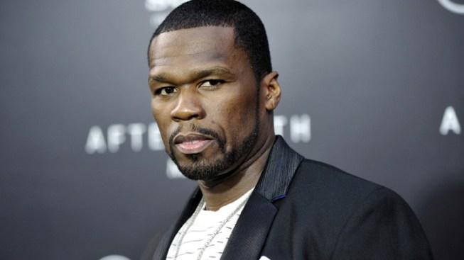 50 Cent Denies Kicking Ex-Girlfriend