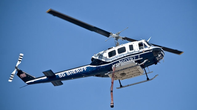 Suspect Shines Laser at Sheriff's Chopper