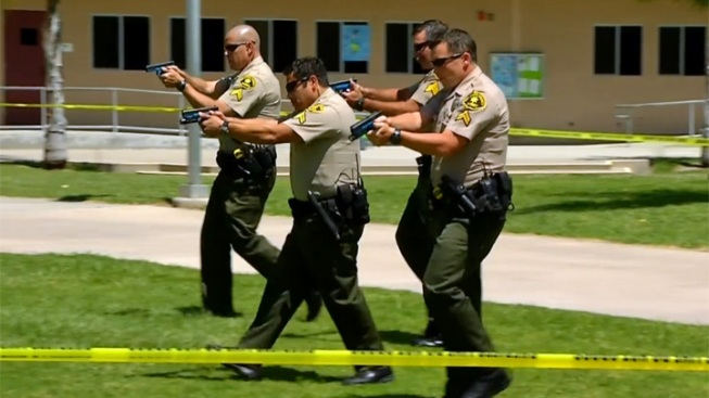 Poway School Staff Trains for Shooting Scenario