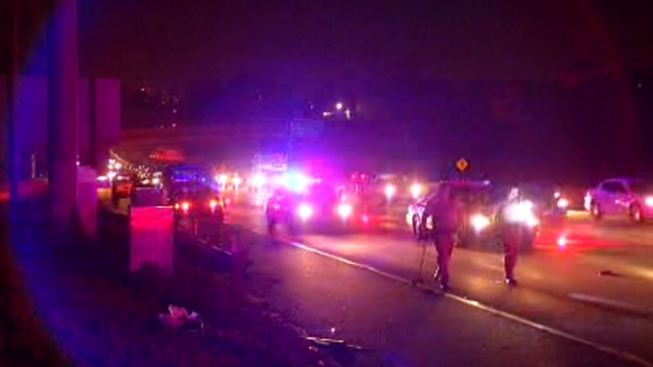 Pedestrian Struck, Killed on I-15