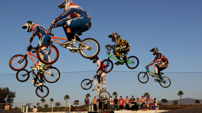 BMX Fans to Gather for Olympic Time Trials