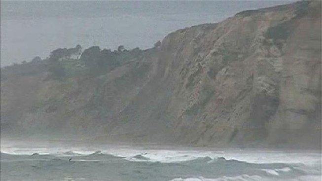 Four Stuck on Nude Beach Cliffs