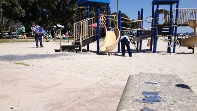 1 Injured After Razor Blades Are Found at Playground