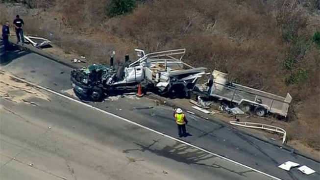 Accident Slows Traffic Near Camp Pendleton