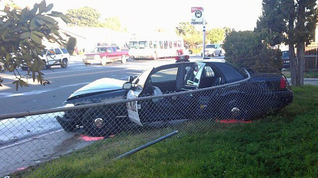 Chula Vista Officer Injured in Traffic Accident