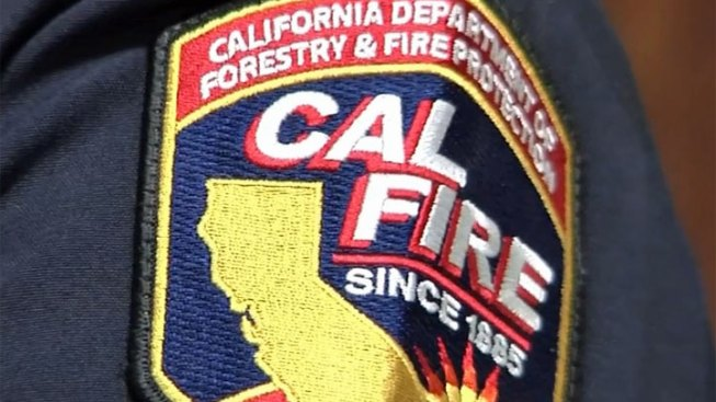 Small Brush Fire Burns in Julian