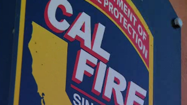 Fire Prompts SigAlert near Escondido