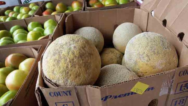 Local Stores See Drop in Cantaloupe Sales