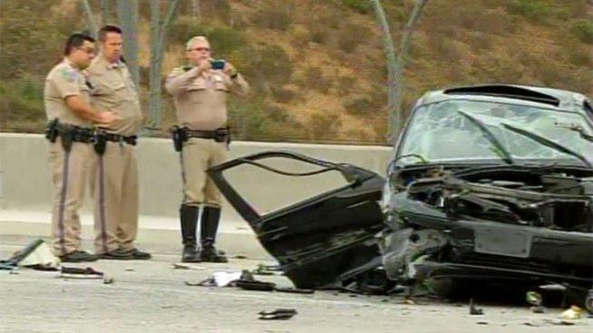 Car Flies Off Freeway in Chula Vista