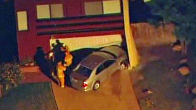 Car Slams into Tierrasanta Home