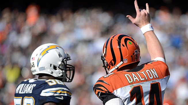 Bengals Beat Chargers 20 - 13