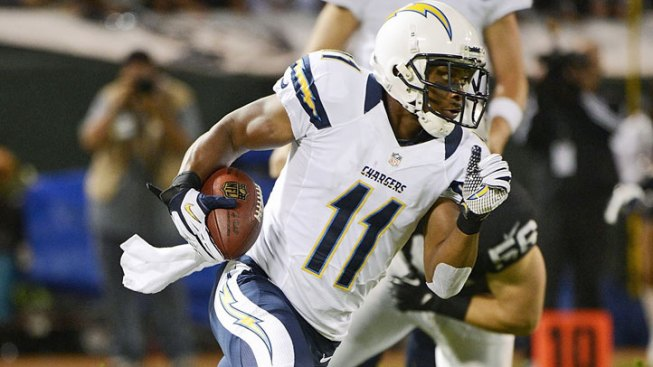 Chargers: Eddie Royal, Corey Liuget Practice; Derek Cox in Boxing Ring
