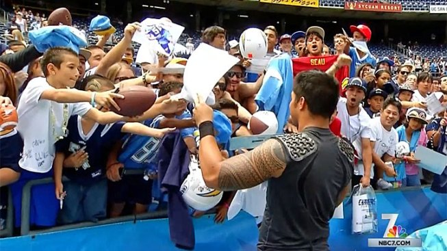 Chargers Camp for Public Consumption