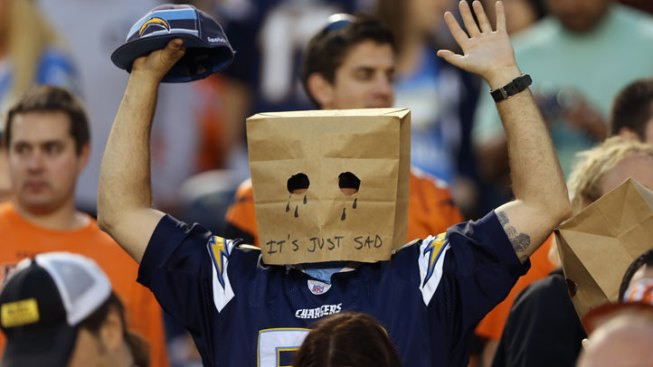 Chargers Game vs. Bengals Blacked Out By NFL