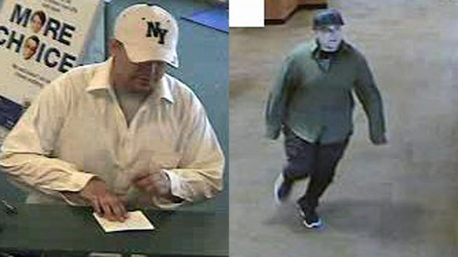 'Chubby Bandit' Sought in Robbery Series