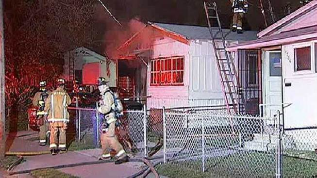 Couple Injured in City Heights House Fire