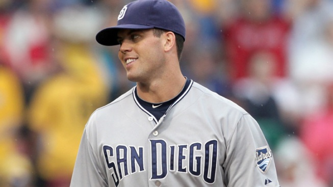 Padres Survive Rain, Adrian to Top Sox