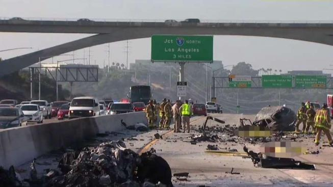 Crash Survivors Of Fiery I 805 Crash Tell Their Stories