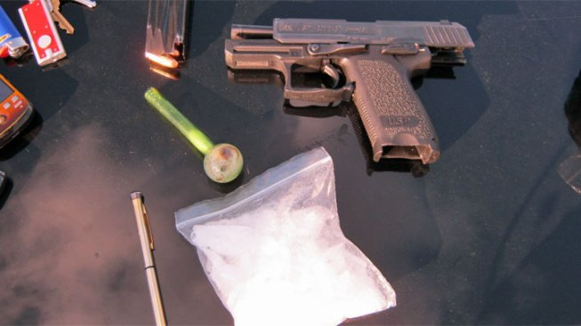 Guns, Meth Seized in Operation 'Crystal Palace'