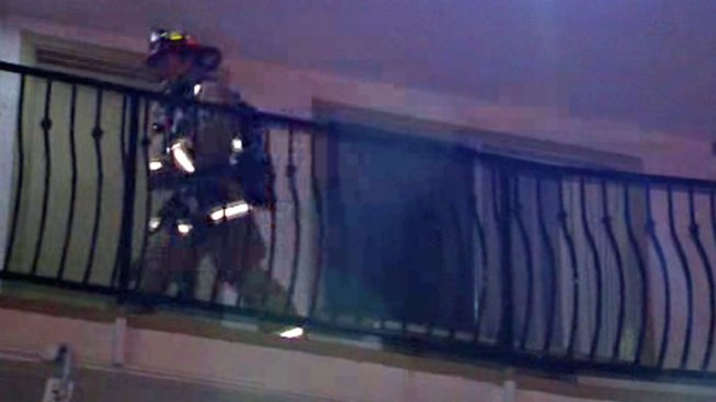 Fire Damages Mission Valley Hotel