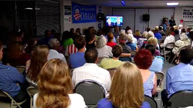 Locals React to First Presidential Debate