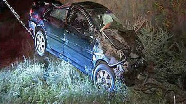 Cell Phone Call Saves Trapped Driver