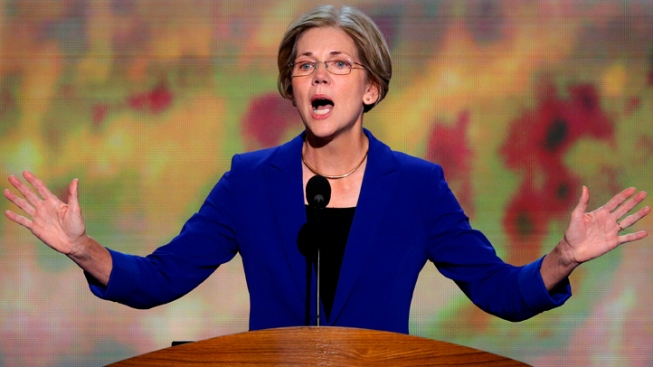 "Elizabeth Warren: Obama Will Repair ""Rigged"" System"