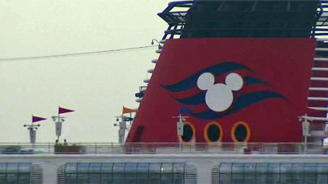 Disney Cruise Ship Wonder Visits San Diego
