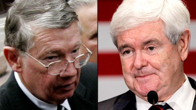 """Duke"" Cunningham Backs Newt for Pres: Report"