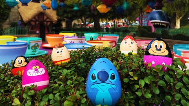 Egg-stravaganza Returns to Disneyland