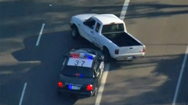 Police Pursuit Ends in El Cajon