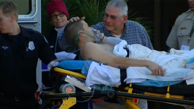 Deputy Healing From Gunshot Wound