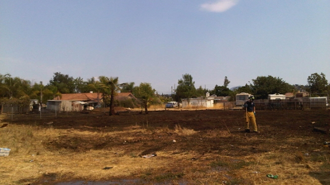 Small Fire Burns 1 Acre in Escondido