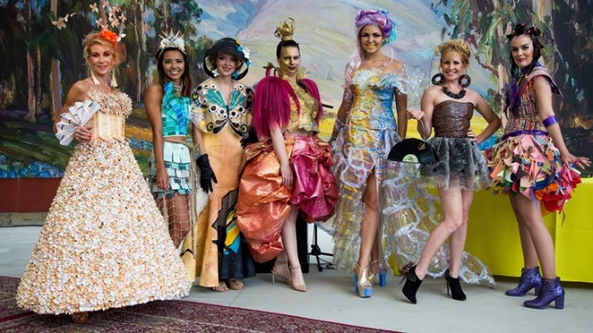 Recyclables Rule Art-Forward Fashion Show