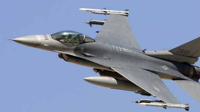 Search Continues for Pilot After F-16 Crash in Arizona